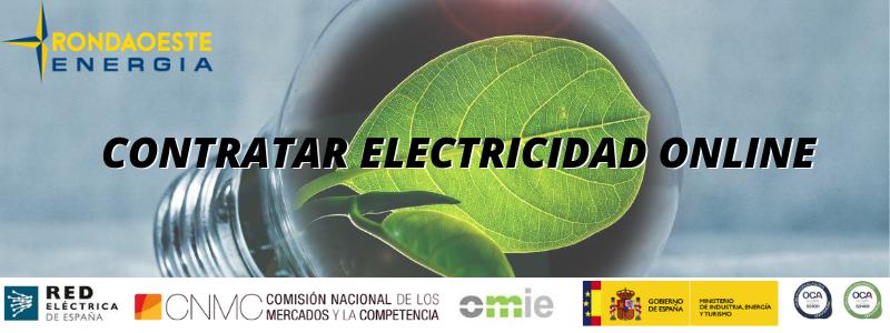 Contratar electricidad online