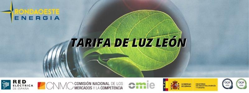 Tarifa de Luz León